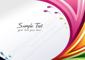 Splash of Various Colors Background – PSD Download