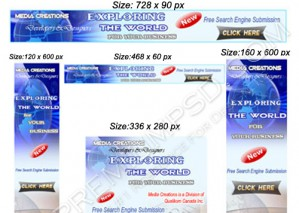 High Resolution Banners Design, PSD Download