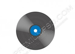 High Resolution Black Disk Design, PSD Download
