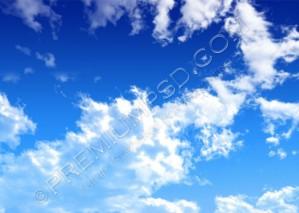 High Resolution Clouds Wallpaper Design, PSD Download