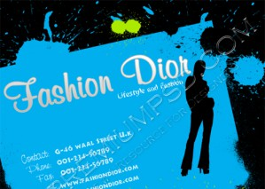 High Resolution Fashion Flyer Design, PSD Download