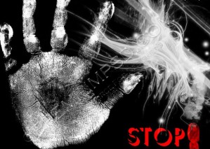 High Resolution Hand Stop Background Design, PSD Download