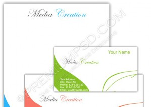 High Resolution Simple Letterhead Design, PSD Download