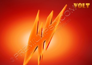 High Resolution Volt Wallpaper Design – PSD Download