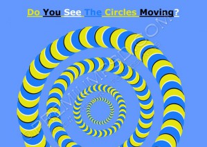 Circles Moving illusion – High Resolution – PSD Download