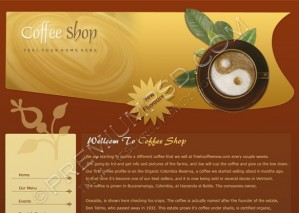 Coffee Shop Template Design – High Resolution – PSD Download