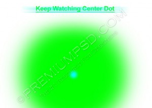 Fading Dot illusion Design – High Resolution – PSD Download