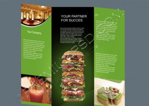 High Resolution Fast Food Resturant Flyer Design, PSD Download