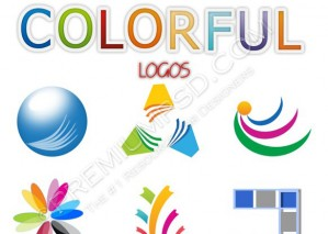 Colorful Assorted Logos Design – High Resolution – PSD Download