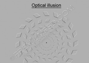 Optical illusion –  High Resolution – PSD Download