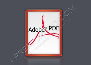 Adobe PDF Logo – High Resolution – PSD Download