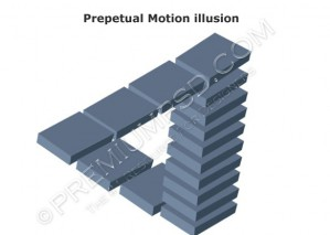 Perpetual Motion illusion Design – High Resolution – PSD Download