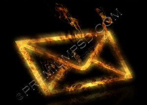 Burning Envelope Design – High Resolution-PSD Download