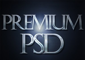 Aluminium Text Effect, Step by Step Tutorial With PSD Source
