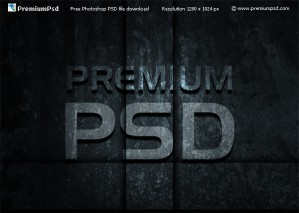 Shadowed Grunge Text Effect in Photoshop, Step by Step Tutorial With PSD Source