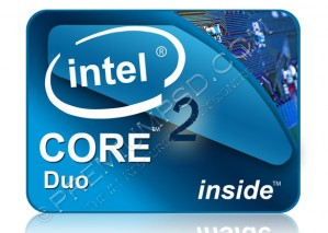 Intel Core 2 Duo Glossy Logo – High Resolution – PSD Download