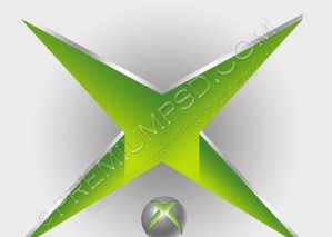 How to Design a Xbox Logo, Step by Step Tutorial With PSD Source