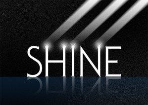Brilliant Shine Wallpaper – Photoshop Tutorial with PSD Source