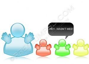 Glossy Messenger Cartoons Design – High Resolution – PSD Download