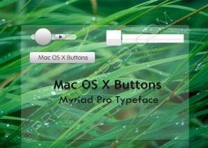 Mac OS X Buttons Effects Design – High Resolution – PSD Download