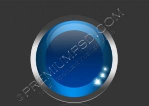 Futuristic Shiny Eye Ball Design – PSD Download