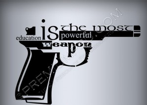 Gun Text Design – High Resolution – PSD Download