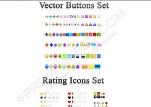Assorted Web Icons Sets – PSD Download