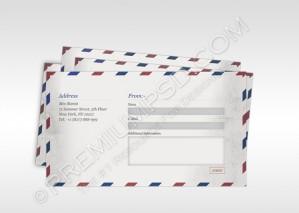 Old Envelope Design – PSD Download