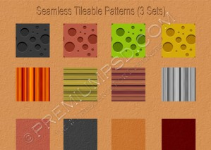 Seamless Tileable Patterns Sets – PSD Download