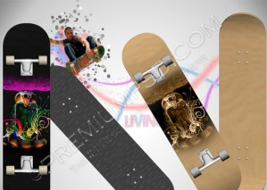Two Skateboard Pairs Design – PSD Download