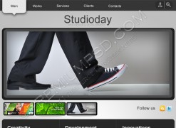Studio Day Web Template – PSD Download