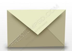3D Rendered Envelope Design – PSD Download