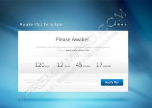 Awake Template Design – PSD Download