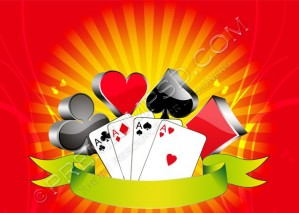 Betting Cards Wallpaper – PSD Download