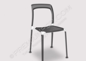 Metallic 3D Chair Design – PSD Download