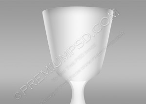Old Wine Glass Design – PSD Download