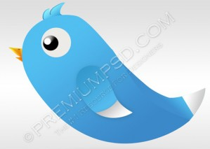 Unique Twitter Bird Design – PSD Download