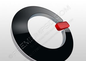 3D Glossy Switch Button – PSD Download