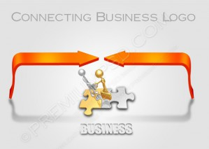 Connecting Business Logo – PSD Download