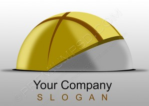 Logo Stuck in Ground Design – PSD Download