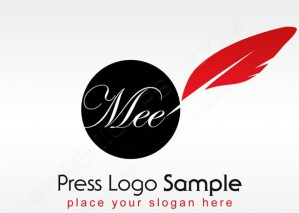 Press Logo Sample Design – PSD Download