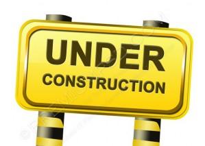 Under Construction Sign Design – PSD Download
