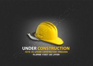 Under Construction Sign Wallpaper – PSD Download