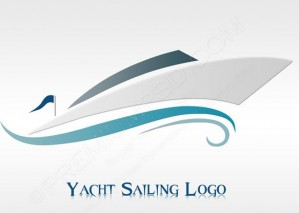Yacht Sailing Logo Design – PSD Download