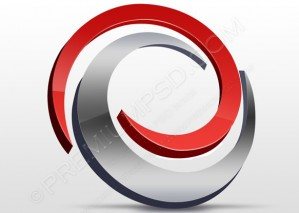Abstract 3D Swirl Design – PSD Download