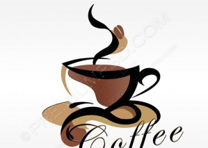 Coffee Shop Logo Vector – PSD Download