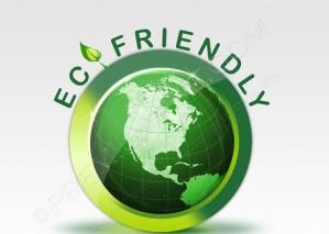 Green Eco Friendly Logo – PSD Download
