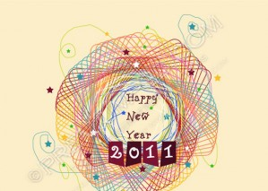 Happy New Year 2011 Wallpaper – PSD Download