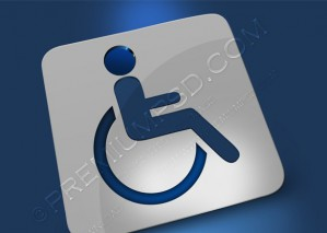 Abstract Disable Sign – PSD Download