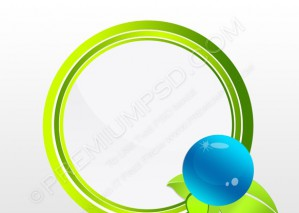 Abstract Eco Symbol – PSD Download